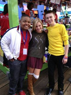 "Olivia Holt With Her ""Kickin' It"" Co-Stars And More At The Mattel Party On The Pier October 21, 2012"