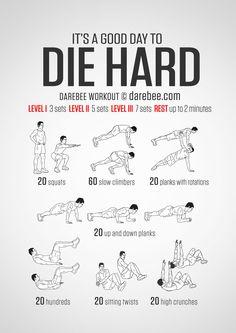 Die Hard Workout