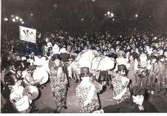 Primer entierro de Ravachol , carnaval de Pontevedra 1985