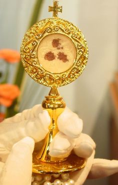 "Eucharistic Miracle with Julia Kim, Naju, Korea, ""The Holy Eucharist is… Christ The King, Catholic Religion, Jesus Pictures, Blessed Virgin Mary, Blessed Mother, God Jesus, Roman Catholic, Sacramento, Faith"