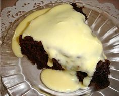 Custard Sauce from Food.com: Custard is a British institution! Sponge puddings and crumbles just wouldn't be the same without it! This will make a custard of a pouring consistency. IMPORTANT: In order to have a smooth (not lumpy) custard, use a heavy-bottomed saucepan, and stir constantly! If you have to walk away from the stove, remove saucepan from heat.