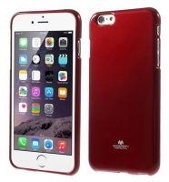 Funda TPU Mercury Jelly Case Para iPhone 6 4,7 Roja.