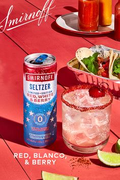 A hard seltzer brand recommending tequila in a cocktail? Now that's spicy. Party Drinks, Cocktail Drinks, Fun Drinks, Alcoholic Drinks, Beverages, Tequila, Smirnoff, Alcohol Drink Recipes, Festive Cocktails