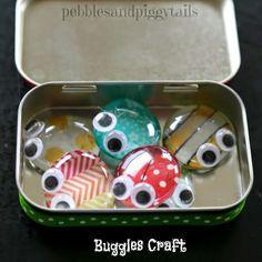 Altoid Tin Reuse Bug Craft Toy