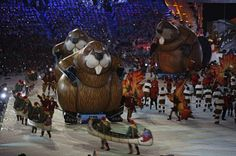 Closing ceremony Winter Olympics 2014 | Closing Ceremonies of the Winter Olympic Games in Vancouver, British ...