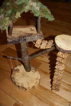 fairy treehouse. $55.00, via Etsy.