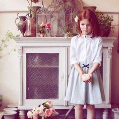Poppy Rose ropa para niños con aire retro