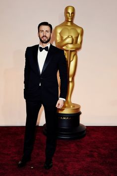 Chris Evans attending the 87th Annual Academy Awards on February 22, 2015 in Hollywood, CA.