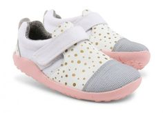 a357f0127 Bobux I-walk Play Aktiv White Shoes - Bobux - Little Wanderers Zapatos Del  Niño