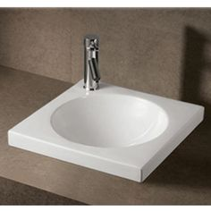 Isabella Square Drop-In Bath Sink