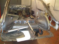 Rear panel off