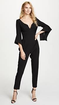 Warrior Jumpsuit - We love this jumpsuit - so very flattering #jumpsuit #black #style #ootd #fashion #stylist #stylisttip #modalist.com #cash #back #pinterest