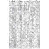 Found it at Wayfair - Diamond Cotton Shower Curtain