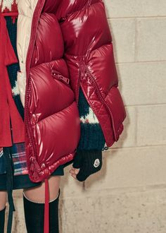 Hasil gambar untuk Puffer jacket maker Moncler goes cold on catwalk collections
