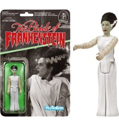 "Universal Monsters - Bride of Frankenstein ReAction 3.75"" Action Figure (Series 1)"