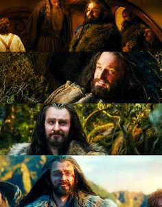 The rare Thorin smile