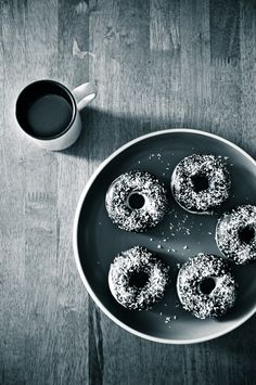 Baked Cake Doughnuts recipe - I've never made donuts before, but I think I could do this!