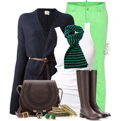 """Neon for Fall"" by pinkroseten on Polyvore"
