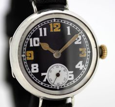 Currently at the #Catawiki auctions: Rolex ( W&D - Wilsdorf & Davis ) Manual Winding Sterling Silver Wristwatch, 1...