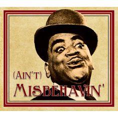 Uptown Swing » (Ain't) Misbehavin'