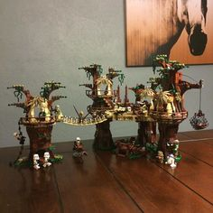 Finished!!! This thing is huge! More detailed pics to follow! #Lego #legostarwars #starwars #starwarslego #starwarsfan #starwarssaga #fanboy #maytheforcebewithyou #jedi #sith #galacticempire #rebelalliance #rebeltrooper #stormtrooper #scouttrooper #ewokvillage #legoewokvillage #r2d2 #c3po #chewbacca #princessleia #hansolo #lukeskywalker #afol #afolclub #afolproblems #starwarssaturday #legostagram #legophotography #toyphotography by plastic_plan