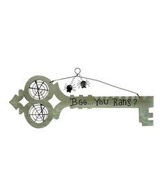 Love this 'You Rang' Hanging Sign on #zulily! #zulilyfinds