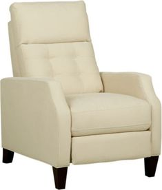 Bromfield Natural Pushback Recliner