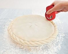 Feature: - The Pastry Wheel Decorator by Talisman Designs will help you easily and beautifully finish your pie crusts and quiches every time - Easy to use with quick results; lightly roll the Pastry Wheel Decorator around the edge of the crust to leave a decorative impression - Use with pie dough, puff pastry or fondant; a great kid-friendly baking tool - Look for the other innovative tools in the Pie Collection from Talisman Designs - Made of BPA-free and FDA approved silicone and plastic…