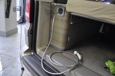 VW T5 California Dusche