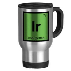 Hgho stainless steel mug automatic stirring mug automatic stirring ir irish coffee chemistry periodic table symbol coffee mugs urtaz Image collections