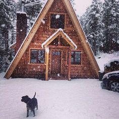 a-frame cabin. love.