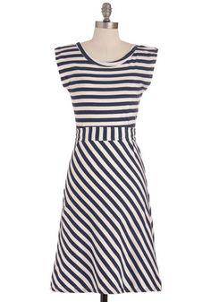 Riviera Romance Dress in Navy, #ModCloth