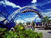 Corkscrew...another picture of the ride that gave me dozens of sunglasses that summer....