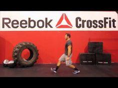 "▶ Reebok CrossFit ONE Movement Demo ""Walking Lunge"" - YouTube"