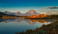 Oxbow Bend Lights Up- October 1, 2011