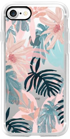Casetify iPhone 7 Classic Grip Case - Pink Spring by Chloe Hall by Chloe Hall #Casetify