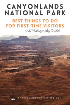 A first-timers guide for things to do in Canyonlands National Park, including the most amazing sights and hidden gems within Island in the Sky, The Needles, and The Maze districts. * canyonlands national park | canyonlands national park photography | the needles canyonlands | canyonlands national park with kids canyonlands national park hiking | canyonlands national park one day | best things to do in canyonlands