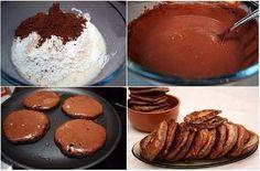 Шоколадные оладьи за 5 минут / Слабый пол!