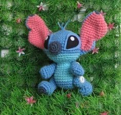 Stitch super cute  PDF amigurumi crochet pattern by Chonticha, $5.00