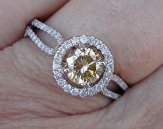 Items similar to Reserved...3.78ct Estate Vintage PEAR Shaped Diamond Engagement Wedding Pave Halo Rose Gold Ring - Video on Etsy