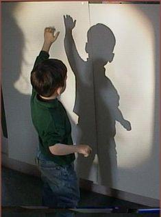 ombres et lumières... sous l'angle plus spécifique de la découverte du monde