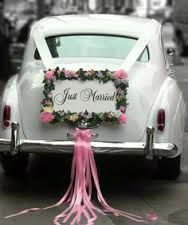 wedding car decoration - Google Search