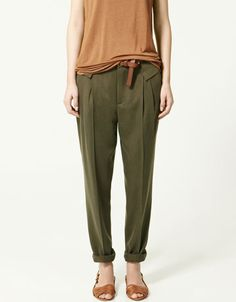 Zara. love those pants