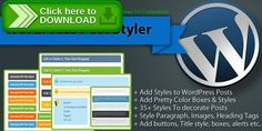[ThemeForest]Free nulled download WordPress Post Styler - Pretty Post Styles Plugin from http://zippyfile.download/f.php?id=58571 Tags: ecommerce, Address Box, Blockquote Styles, Colored Boxes WordPress, Download Boxes, download buttons, H2 H3 Tags Styles, Heading Tags Styles, HTML Code Box, image boxes, info box, paragraph styles, Post Styles, Text Case Styles, Title Tags Styles, WordPress Post Styles