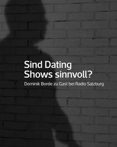 Vor kurzem war ich zu Gast bei ORF Radio Salzburg und spannende Fragen beantwortet. Hier ist der Beitrag zum Thema Dating-Shows für dich zum Nachhören. Salzburg, Radios, Channel, Dating, Author, Quotes