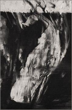 Illustrated by Robert Shore. Sea Illustration, Whale Tattoos, White Whale, Whale Art, High Fantasy, Chiaroscuro, Dark Art, Cool Art, Concept Art