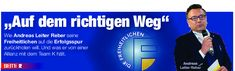 📰Interview der Die Neue Südtiroler Tageszeitung mit unserem Landesparteiobmann L. Abg. Andreas Leiter Reber. Andreas, Interview, Ladder