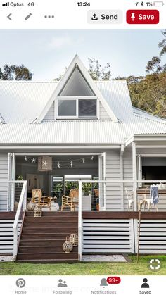 Deck Skirting Ideas - Search photos of Deck Skirting. Locate concepts as well as ideas for Deck Skirting to add to your personal house. House Skirting, Deck Skirting, Weatherboard House, Queenslander, Casa Patio, Exterior Cladding, Timber Cladding, Cladding Ideas, House Cladding