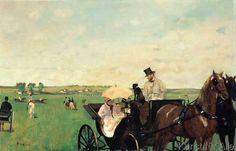 Nas Corridas, Aux Courses en province- 1869/72