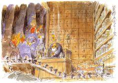 Studio Ghibli © Toho Company © Buena Vista International Source: Minitokyo